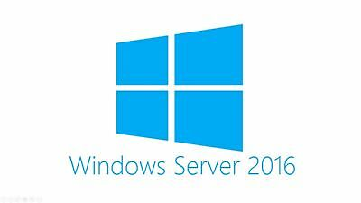 Microsoft Windows Server 2016 Standard Download Official Full Retail.