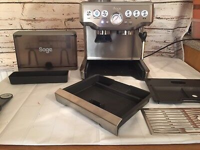 Sage By Heston Blumenthal BES870UK Barista Express Espresso Coffee INCOMPLETE