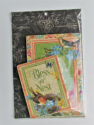 Graphic45 Journaling & Ephemera Cards SEASONS Collection Just Released