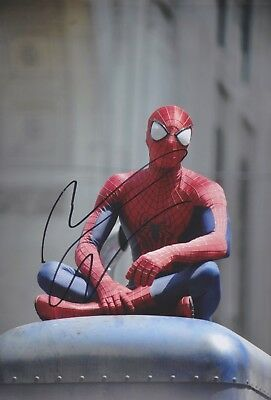 ANDREW GARFIELD Spiderman Foto 20x30 original IN PERSON signiert Autograph
