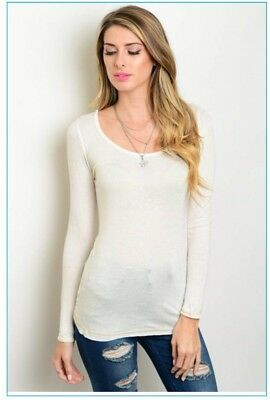 Wholesale womens Cream Colored Tops- 6 Pieces NWT