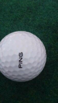Vintage Golf Ball ping  kasten  No 3 - all white 1980-1989