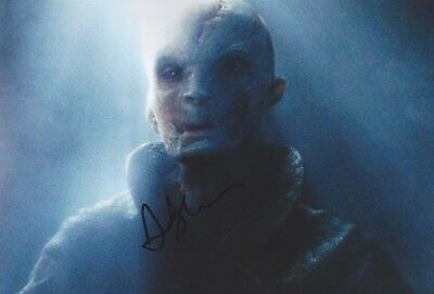 ANDY SERKIS Star Wars Foto 20x30 original IN PERSON signiert Autograph