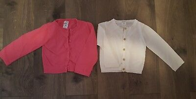 lot of 2 Carter's sweaters 18 months