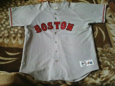 Rare Mlb Jersey - Boston Red Sox Size L