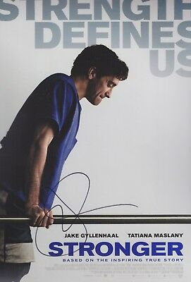 JAKE GYLLENHAAL Foto 20x30 original Autogramm IN PERSON signiert Autograph RAR