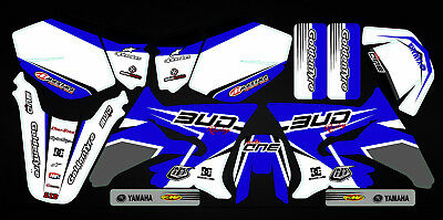 Kit Déco Moto pour / Mx Decal Kit For Yamaha DT 50 - Bud