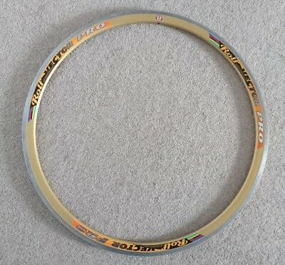 ROLF 1999 vector Pro gold anodized clincher rim 700c 16 SPOKE
