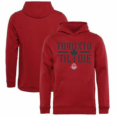 Toronto FC  Pullover Hoodie  ( Size Youth  XL)