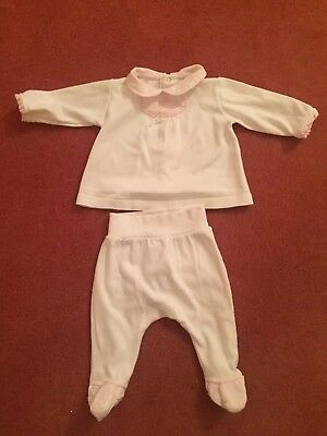 Baby girls Laronjinha Boutique two piece collar Outfit 0-3 Months  Spanish