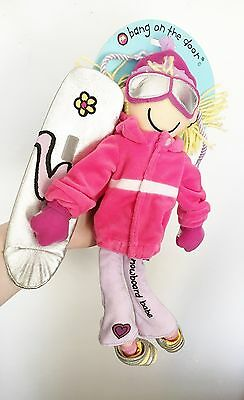 Bang On The Door 'Snowboard Babe' Doll