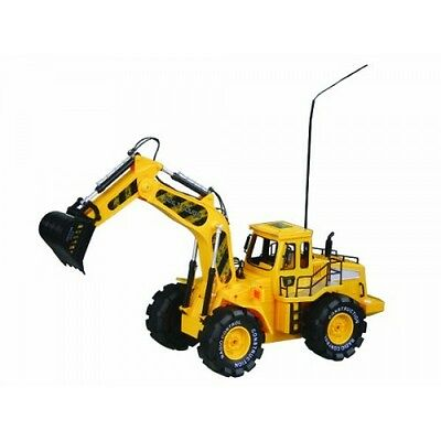 Toy Construction Building large Bulldozer Digger Truck 1:10