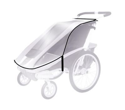 THULE Sweden - Rain Cover for CHARIOT CHINOOK 2 stroller / trailer / carrier
