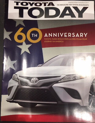 "TOYOTA TODAY - ""60th Anniversary"" The Magazine for Toyota Dealerships. ""Rare"""