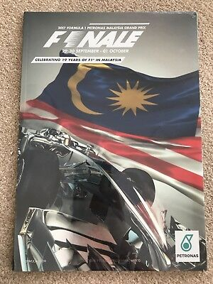 Official Malaysian Grad Prix Programme 2017