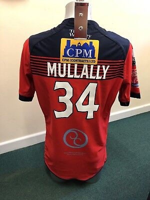Match Worn Featherstone Rovers 2017 Away Shirt (Anthony Mullally) Size Xl