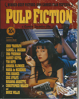 Quentin Tarantino Pulp Fiction In-Person Hand Signed Autographed Photo