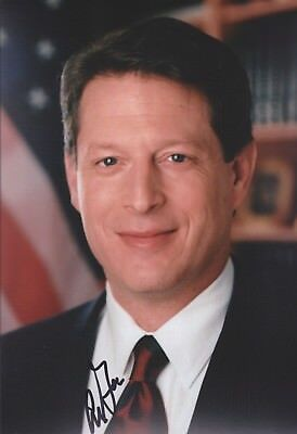 AL GORE USA Foto 20x30 8x12 original Autogramm IN PERSON signiert Autograph RAR