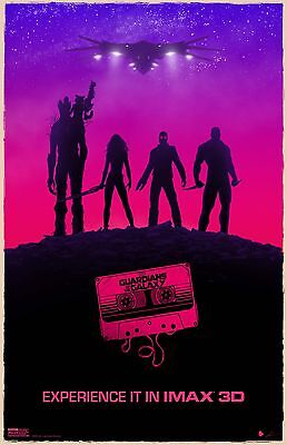 GUARDIANS OF THE GALAXY MIXED TAPE 11x17 MINI MOVIE POSTERS COLLECTIBLE