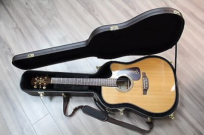 2013 Takamine P5DC Pro Series Dreadnought Acoustic / Electric Guitar (Hard Case)