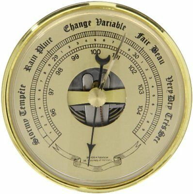 Ajax Scientific Dual Aneroid Barometer Dial 72mm Diameter