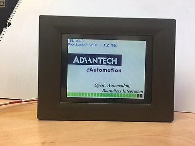 Advantech Tpc-66T-E2Be Hmi 5.7 Inch Touch Screen Used
