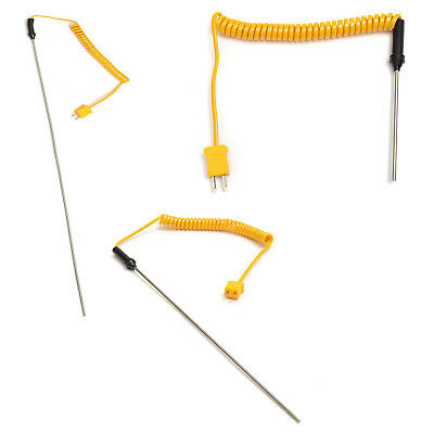 1200 Celsius K-type thermocouple probe thermometer Digit Probe Length:100MM W1T6