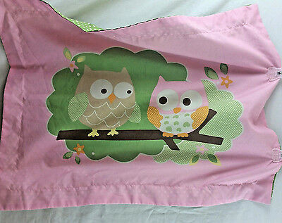 Circo Owl Pillowcase Pink Green Polka dot 100% Polyester