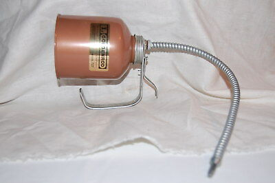 NEW GOLDEN ROD 727  16 oz HAND HELD OIL CAN W FLEXIBLE SPOUT DUTTON LAINSON CO.