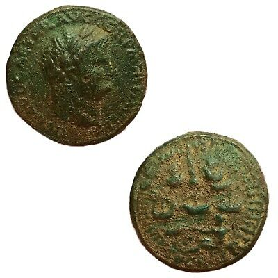Rare Roman Bronze Sestertius Coin Unresearched 200 A.d. No Reserve!! (1)