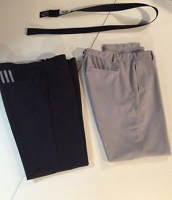 Adidas Golf Trousers And Adidas Belt