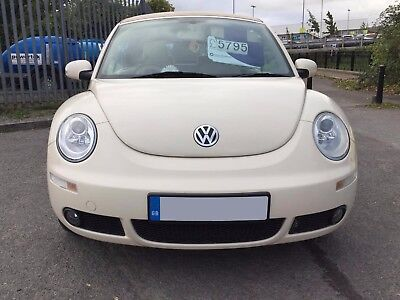 Volkswagen Beetle Beige Convertible 1.6 2007 Low Mileage Impeccable Condition