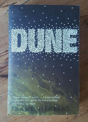 Dune by Frank Herbert - Hodder Paperback Book - Great Reads