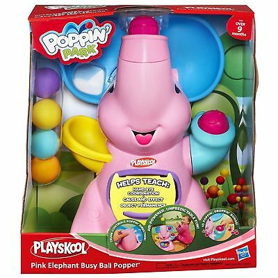 Playskool Elefun Poppin Park Pink Ball Popper NEW & FREE DELIVERY **