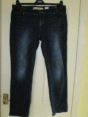 ladies relaxed skinny maternity jeans from next size 14r