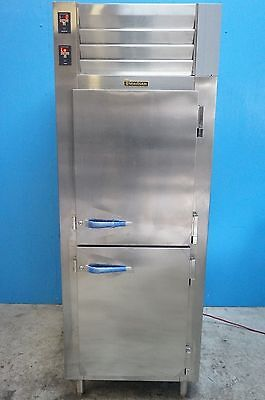 New Traulsen  Solid 4 Half Doors Pass-Thru Dual Refrigerator/ Freezer Model Ad13