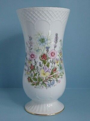 "Rare Aynsley Wild Tudor Sovereign Vase 7 7/8"" Tall"