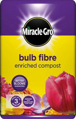 Miracle-Gro Bulb Fibre Compost 20L- Helps bulbs replenish themselves