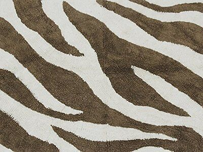 New Pam Grace Creations Baby Nursery Rug - Zara Zebra