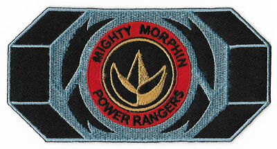 Power Rangers Green Belt Buckle Patch TV Series Mighty Morphin Dragon Badge NEW