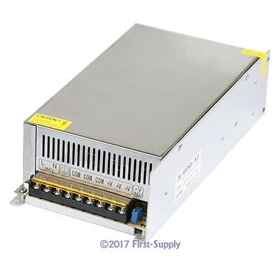 600W 12V 50A DC Switching Power Supply For CCTV Camera