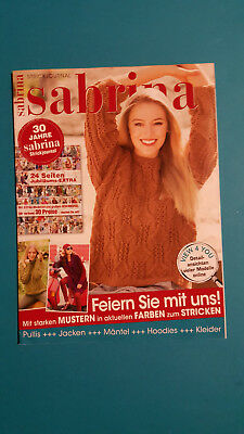 Sabrina Strick Journal 30 Jahre Sabrina Strickjournal ungelesen 1A  absolut TOP