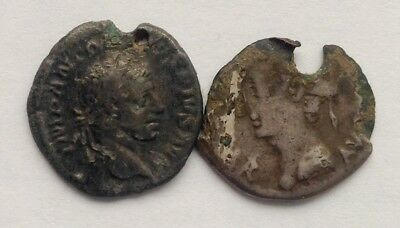 Two Roman Denarii !
