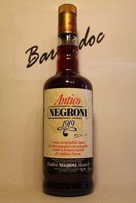 Licores Antico Negroni 1919 , old bottles 70 years cl100 , 25%