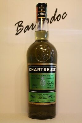 Chartreuse 1605 Garnier ,  Very old Imported Soffiantino cl 0,70 , 55%