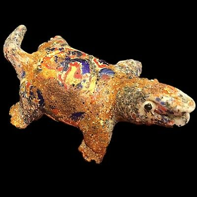 Ultra Rare Phoenician Animal Statuette 300Bc Super Quality (Very Large Size)