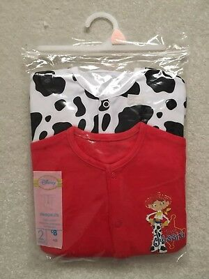 Baby Girls Toy Story Sleepsuits Age 18-24 Months BNWT