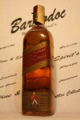 Whisky Johnnie Walker , old bottles 70 years cl 0,75 , 40%