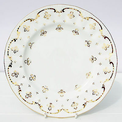 Vintage Royal Osborne Bone China Gold Salad Plate