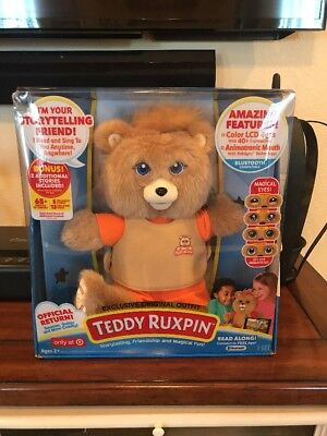 Teddy Ruxpin Bear New 2017 Storytime Magical Talking Bear HOT HOLIDAY TOY Target